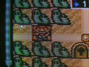 CRT displaying Mario All Stars via a Composite input.