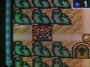 CRT displaying Mario All Stars via a Composite input.