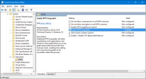 NTFS Long Paths gpedit setting